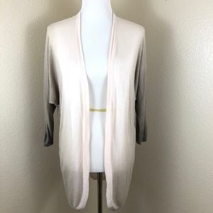Chico's Ombre Quinn Open Front Cardigan